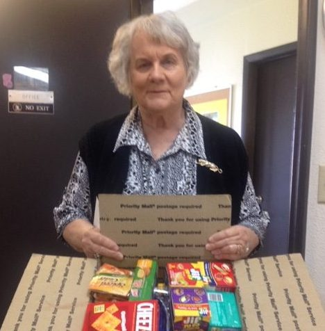 Ester Circle sends goodies to Troops overseas!