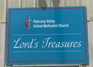 Weekly Sales at Lord's Treasures @ PVUMC Church Rummage Buildings and Churc | Pahrump | Nevada | United States